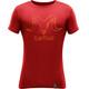 Devold Skull t-shirt Heren rood